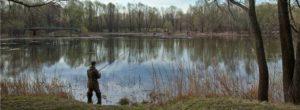 поплавочная ловля весной