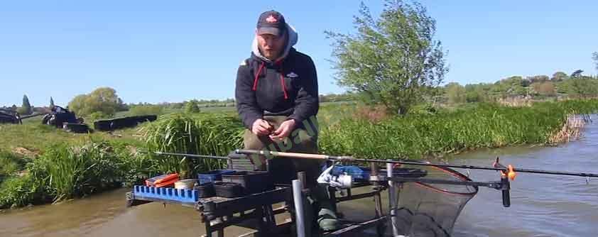 Рыбалка на фидер для начинающих видео