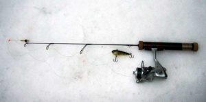 Удилище для ловли судака зимой