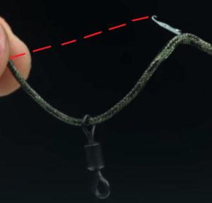 как вязать лидкор для флэт фидера
