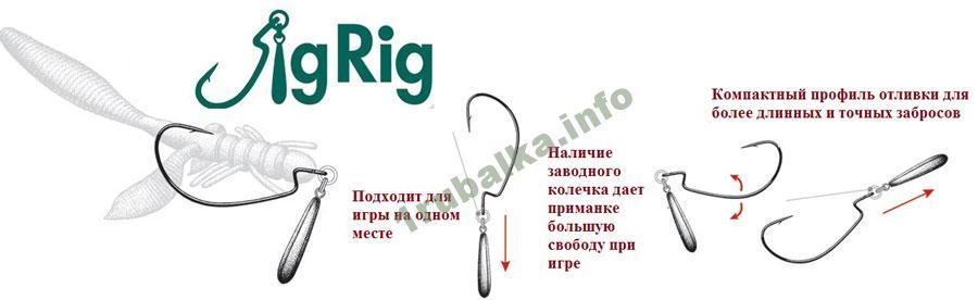 Оснастка джиг риг особенности монтажа сфера применения