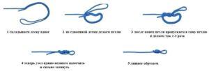 Как привязать петлю на поводок для фидера