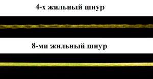 Плетеный шнур для джига